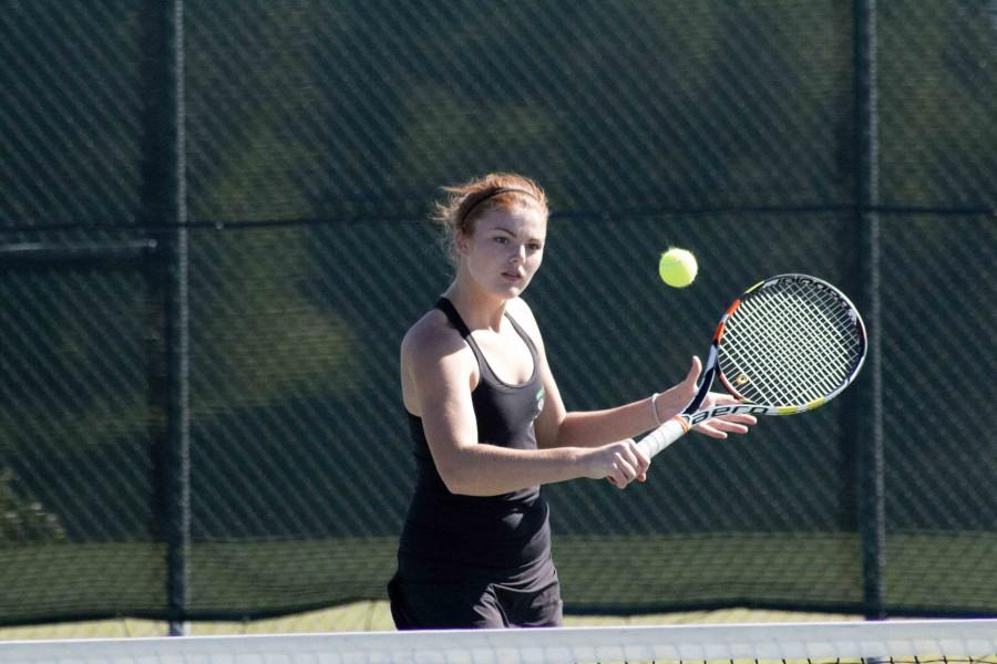 Tennis team starts season with back to back victories Featured Image.