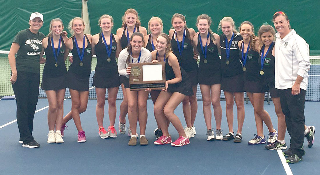 Tennis team state bound for third consecutive year Featured Image.