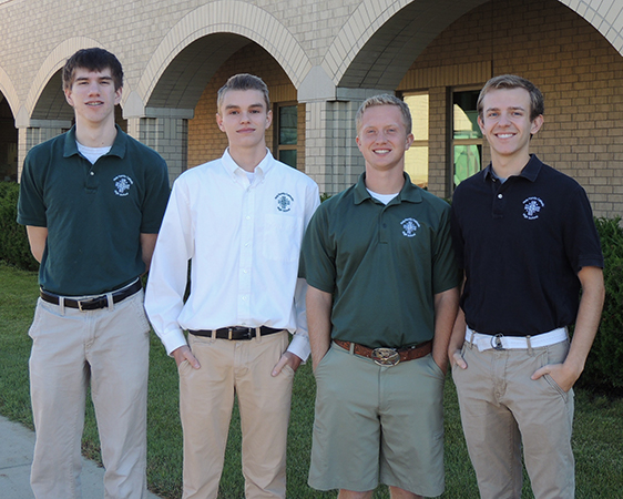 Four Students Receive National Merit Recognition Featured Image.