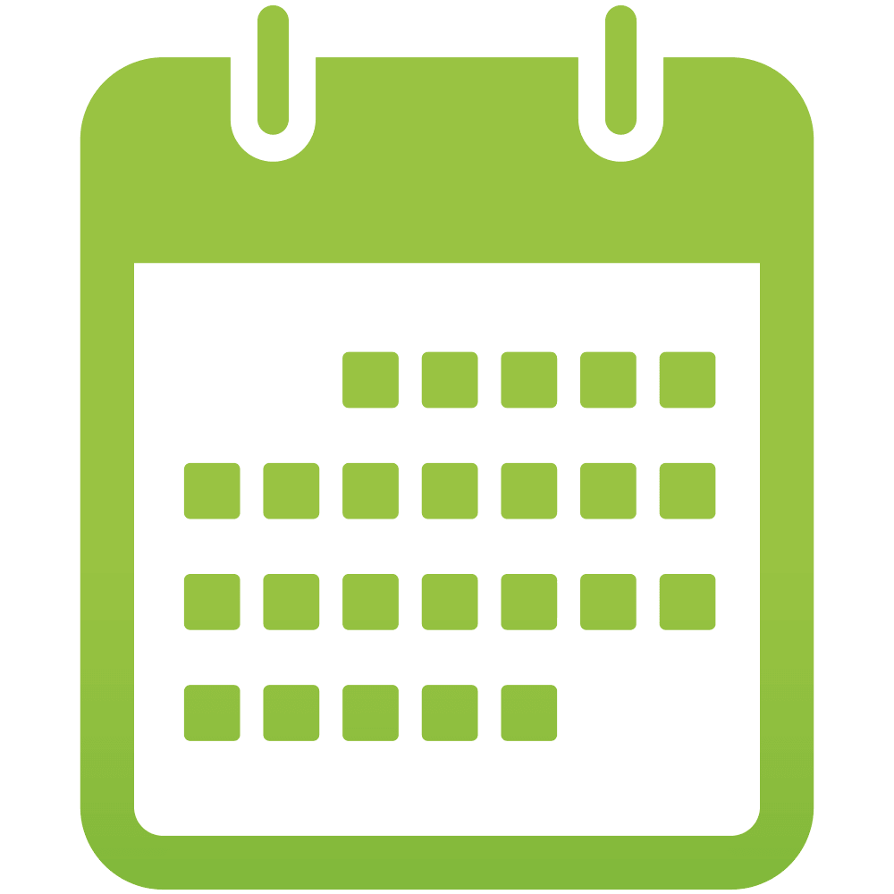 Calendar Green : Calendar green icon png holy family catholic high school