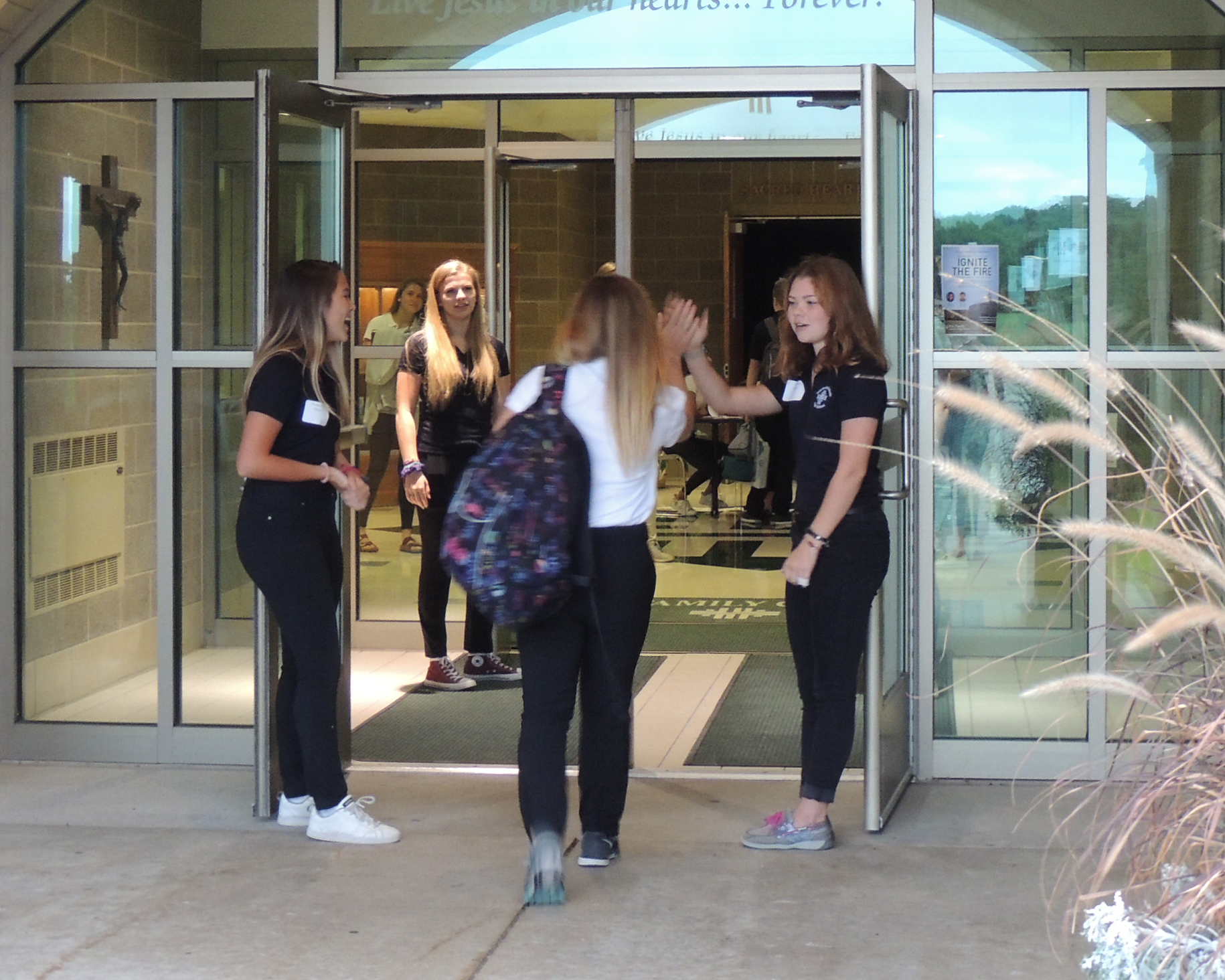 Fire Shadow Day: 5 Reasons to Experience Holy Family Catholic High School Featured Image.