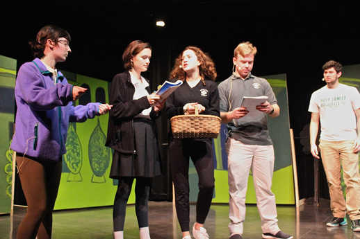 Behind the Scenes: Theatre Arts Prepares for Oz Featured Image.