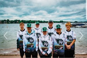 Picture of HF's first fishing team