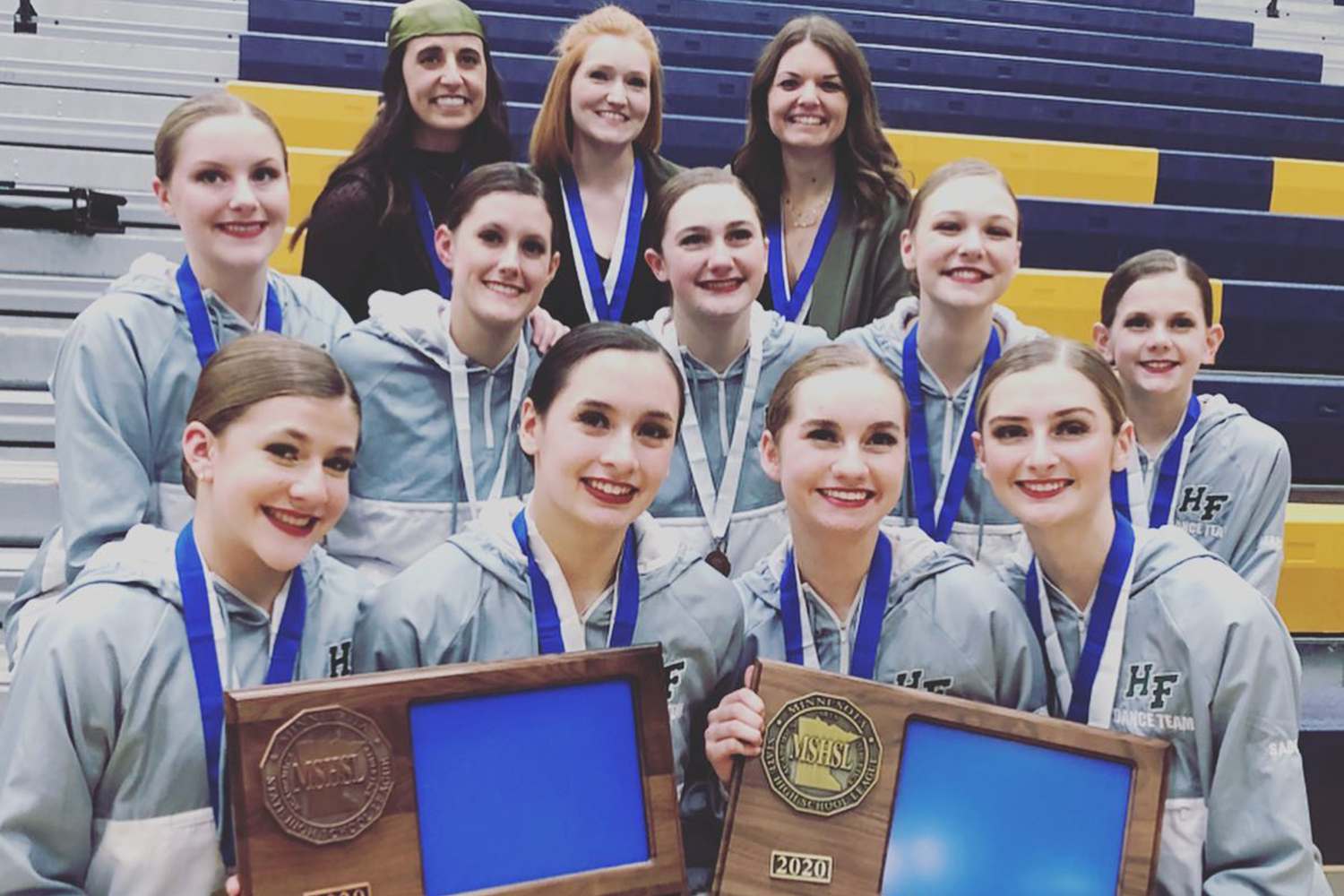 Holy Family Dance Team Heads to State! Featured Image.