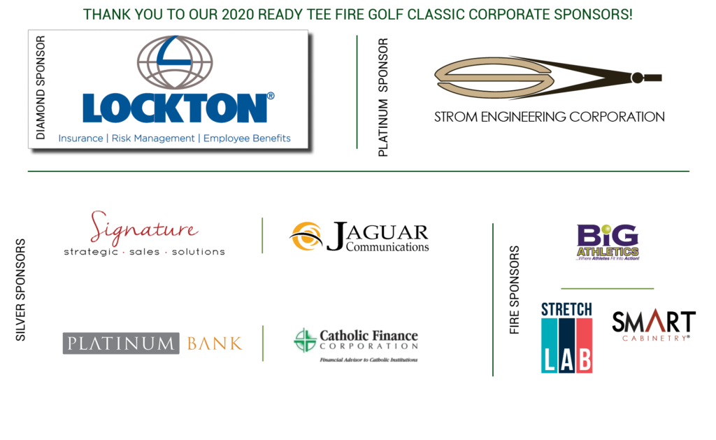 Ready Tee Fire Course Sponsors