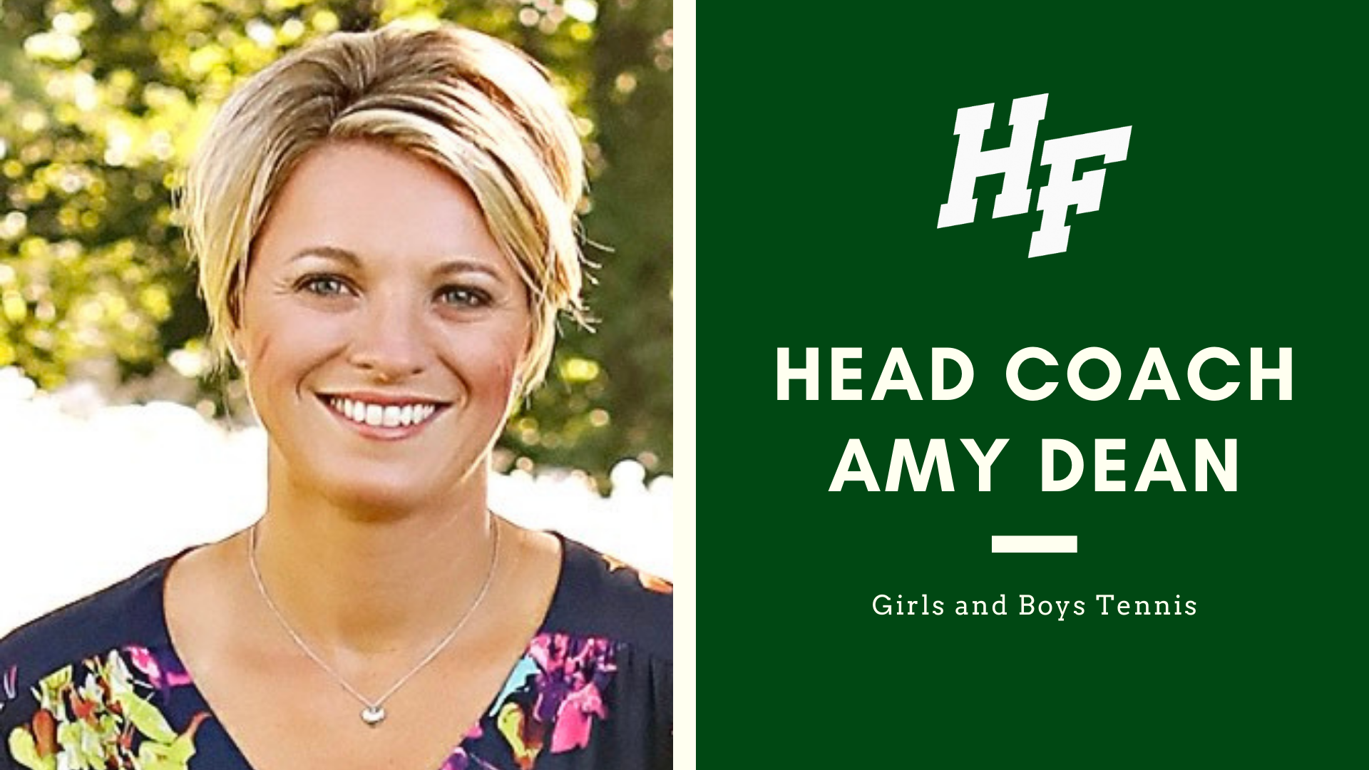 Amy Dean Named Head Coach Featured Image.