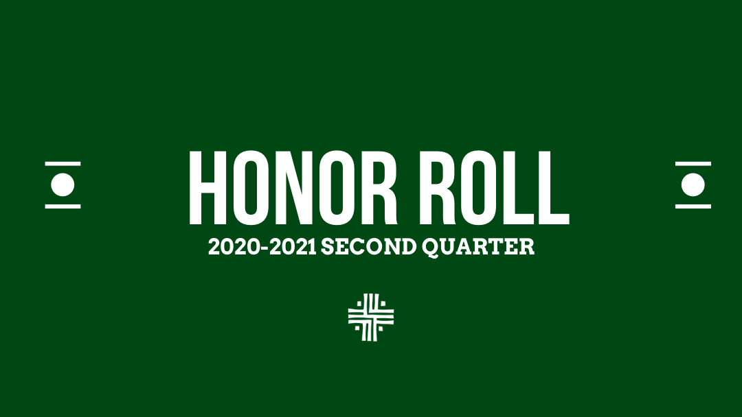 2020-2021 Second Quarter Honor Roll Featured Image.