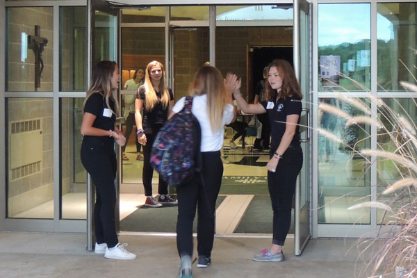 Shadow Day: 5 Reasons to Experience Holy Family Catholic High School Featured Image.