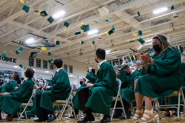 Class of 2021 Mass and Graduation Featured Image.